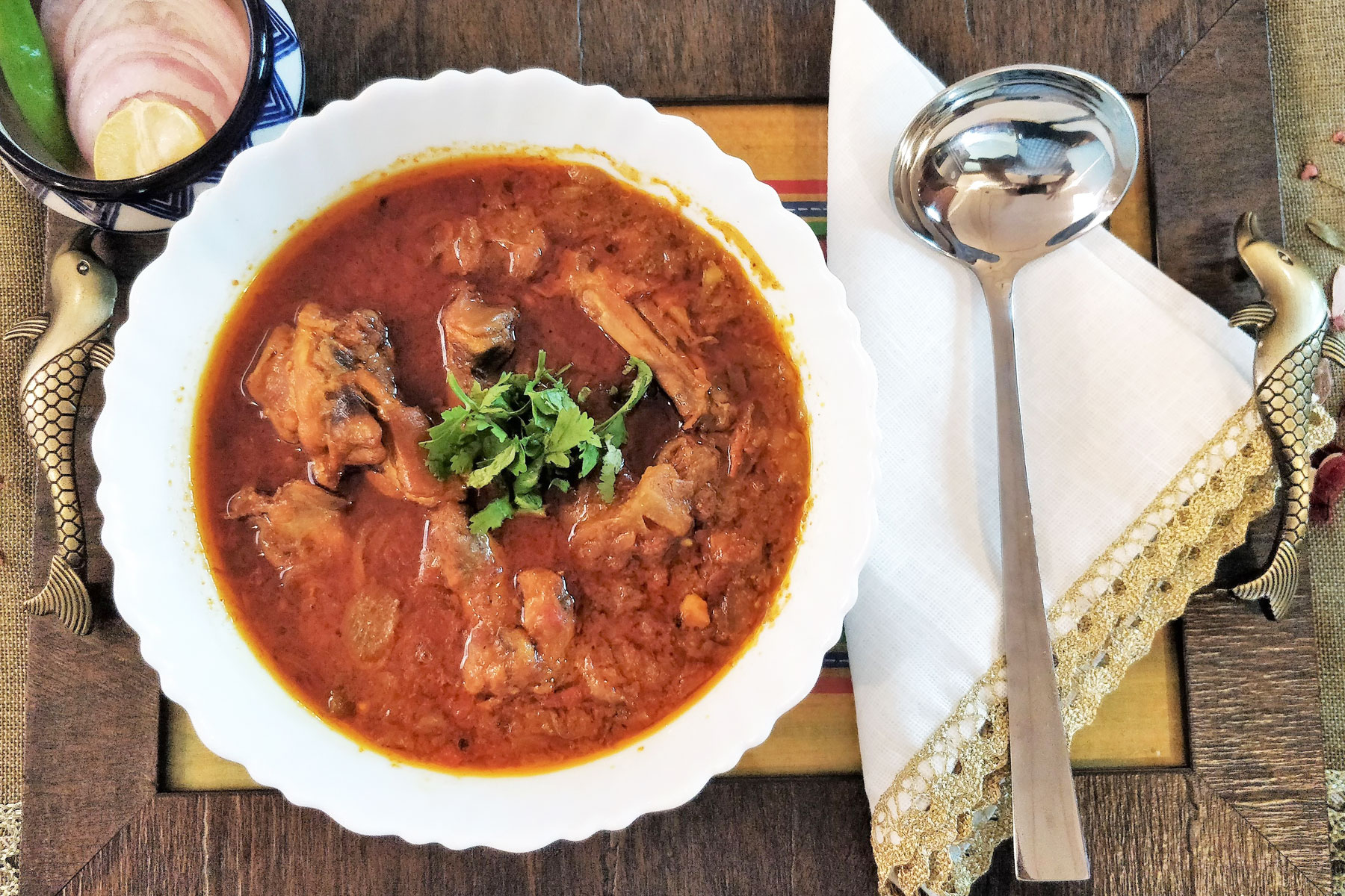 Shveta chicken curry