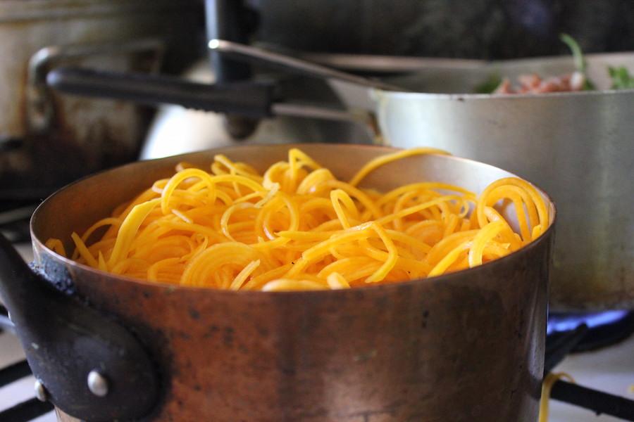 3asquash noodles