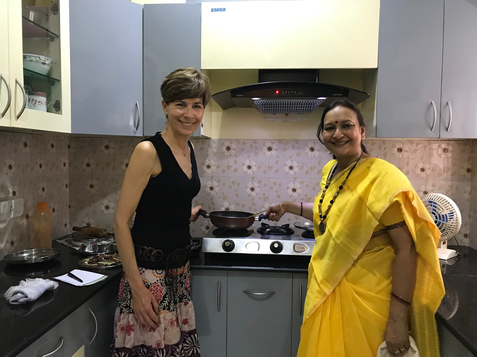 Cooking Class And Home Cooked Bengali Meal In New Town With Zinnia Traveling Spoon