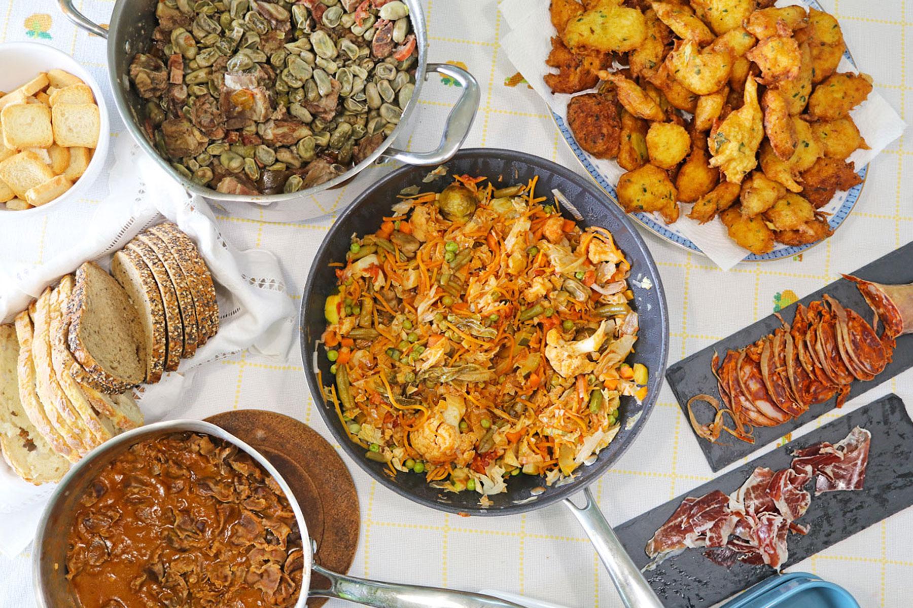 Food spread web